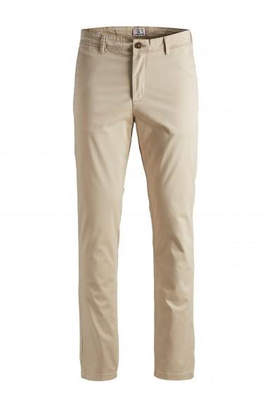 Jackejones Pantaloni   Jjimarco jjbowie sa white pepper st Uomo Beige Fashion