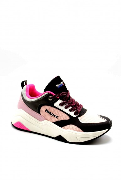 Blauer Sneakers F.gomma Taylor01 Donna Rosa Fashion