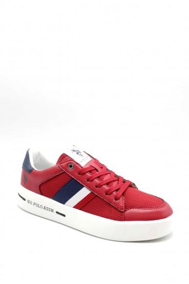 Us polo Sneakers F.gomma Uomo Rosso Fashion