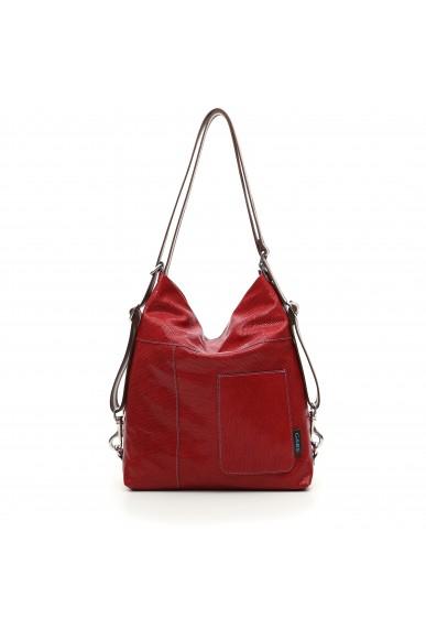 Gabs Borse 31x10x36 Clarissa microspampe Donna Rosso Fashion