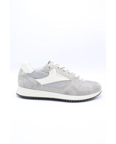 Igieco Sneakers F.gomma 39/46 Uomo Grigio perla Fashion