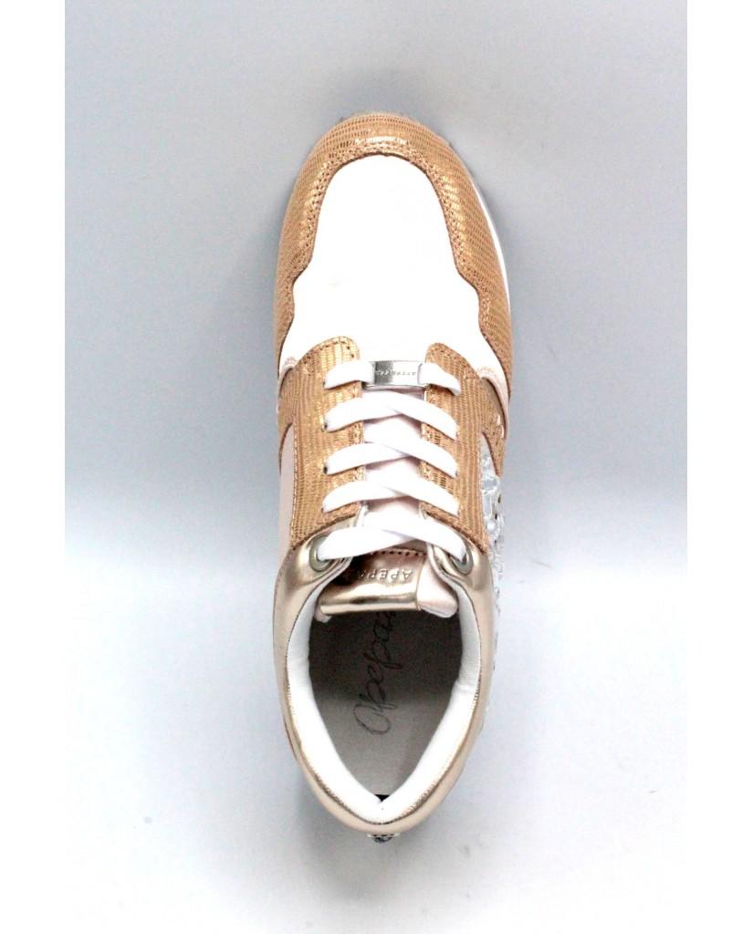 Apepazza Sneakers F.gomma 3541 Donna Cipria Fashion