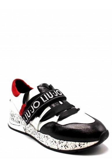 Liu.jo Sneakers F.gomma Karlie 03 - sneaker black/white/red Donna Multicolore Fashion