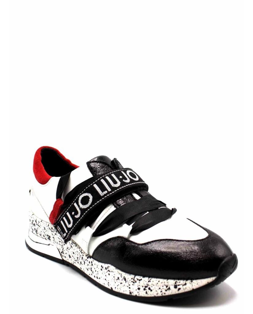 Surtido Capilla suspensión  Liu.jo Sneakers F.gomma Karlie 03 - sneaker black/white/red Donna  Multicolore Fashion