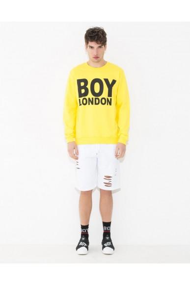 Boy london Felpe Uomo Giallo Casual
