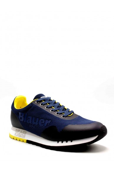 Blauer Sneakers F.gomma Denver01 Uomo Blu Fashion