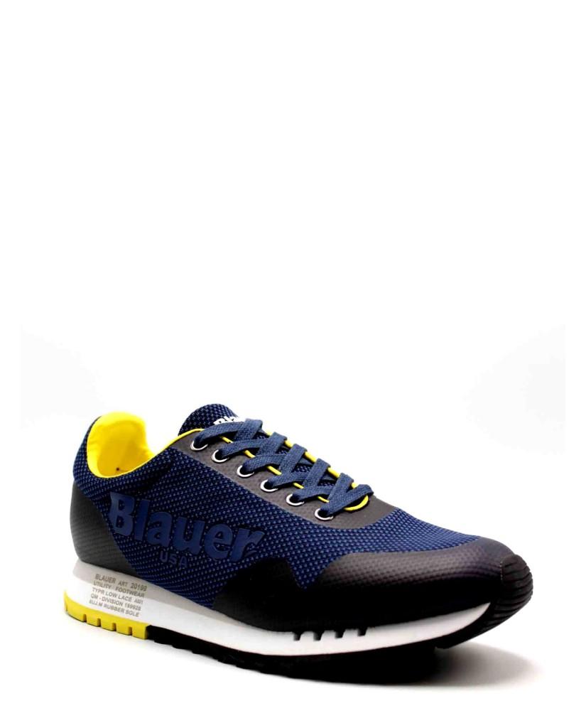 Blauer Sneakers F.gomma Denver01 Uomo Blu Fashion