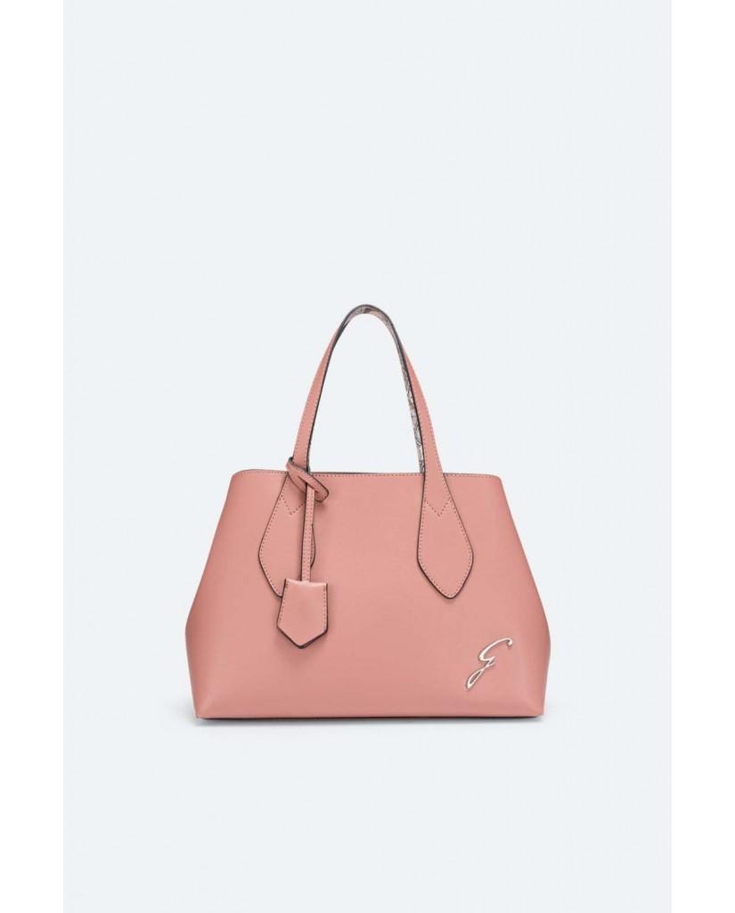 Gattinoni Borse   Denise double handle bag pu/pvc tau Donna Rosa Fashion