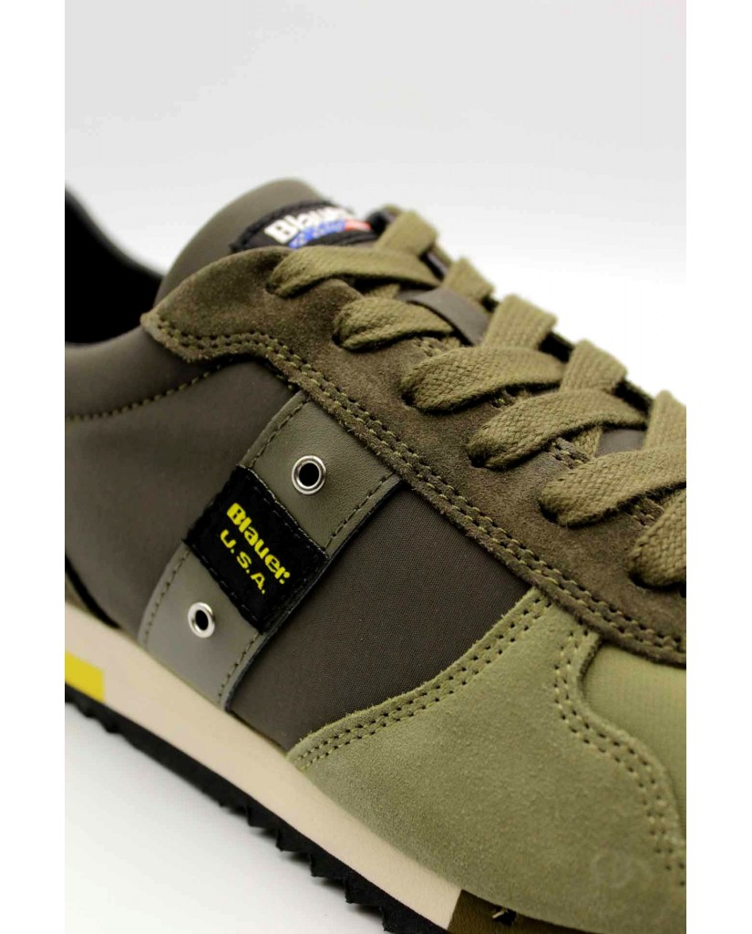 Blauer Sneakers F.gomma Quincy01 Uomo Verde Fashion