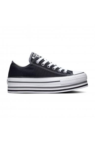 Converse Sneakers F.gomma Ctas eva lift ox Donna Nero Fashion