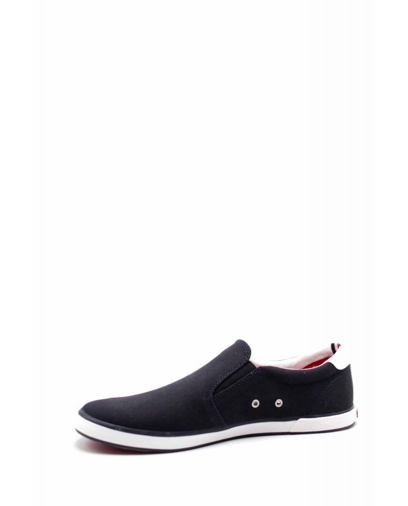 Tommy hilfiger Slip-on F.gomma Iconic slip on sneaker Uomo Blu Fashion
