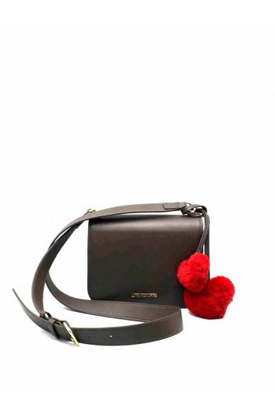 Moschino Tracolle   Borsa pin grain Donna Taupe Fashion