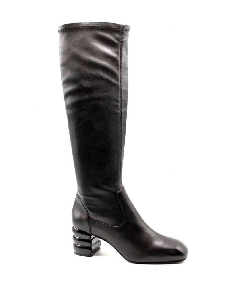 Apepazza Stivali F.gomma Sunny Donna Nero Fashion