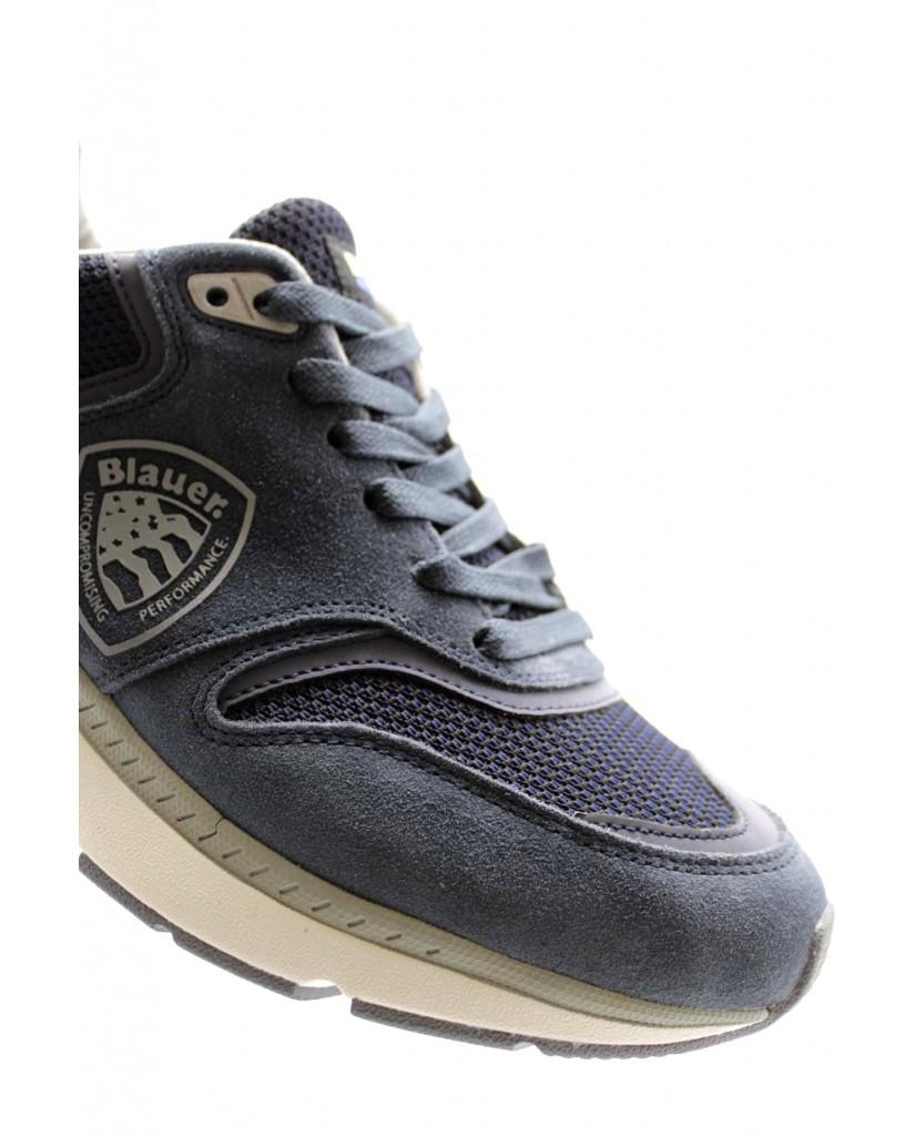 Blauer Sneakers F.gomma Hilo01/sme Uomo Blu Fashion