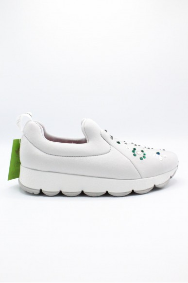 Happiness Slip-on F.gomma 36/41 Donna Bianco Fashion