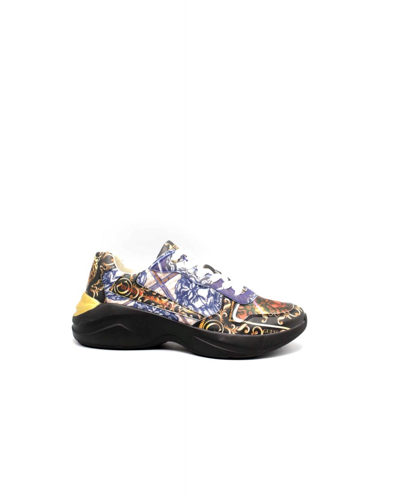 Guess Sneakers F.gomma Viterbo Uomo Multi     Fashion