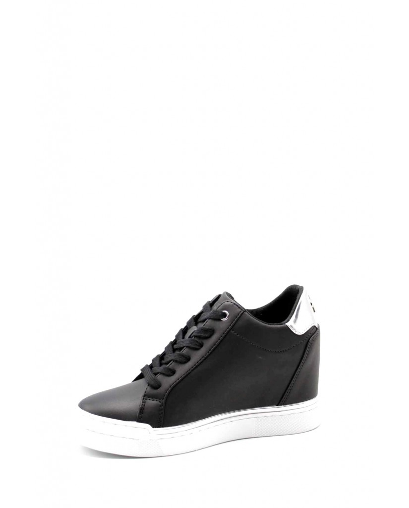Guess Sneakers F.gomma Fayne/stivaletto (bootie)/leat Donna Nero-argento Fashion