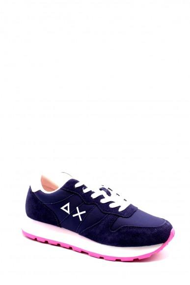 Sun68 Sneakers F.gomma 37-41 z30201 Donna Blu Fashion