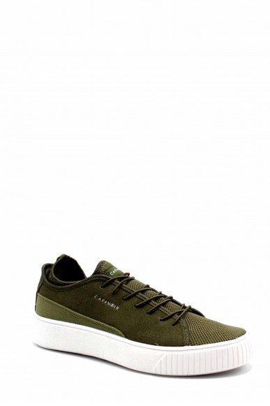 Cafe' noir Sneakers F.gomma Pe621 Uomo Verde Fashion