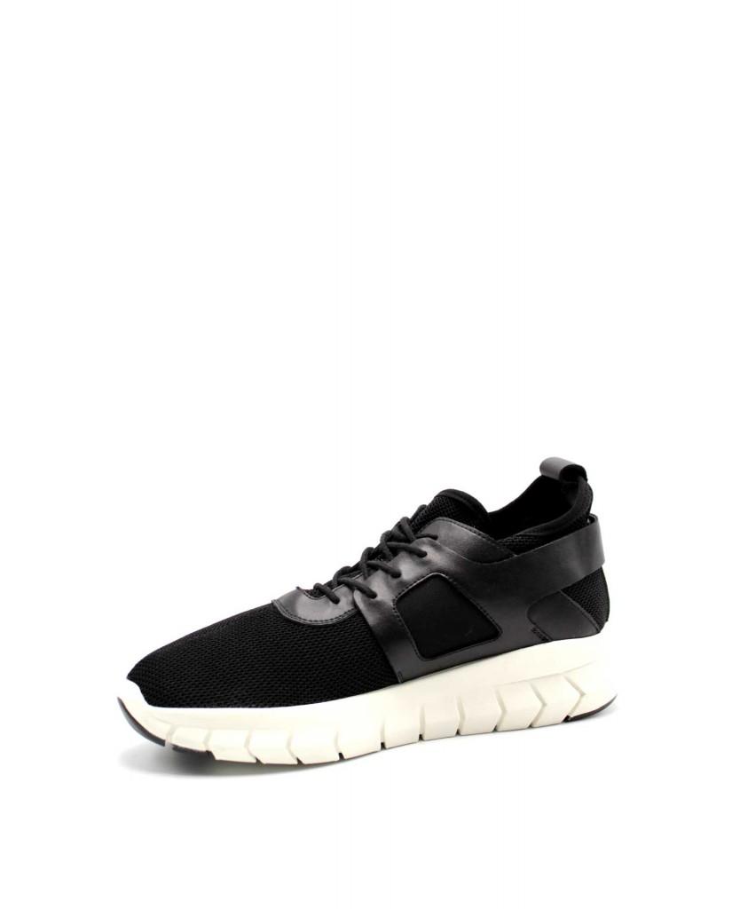Cult Sneakers F.gomma 40/45 Uomo Nero Fashion