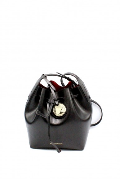 Emporio armani Borse - Bucket bag fancy purp y3e080 yh15a Donna Nero/rosso Fashion