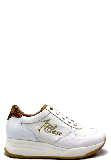 1^classe  Sneakers F.gomma 35/40 Donna Bianco-beige Fashion