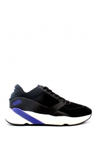Calvin klein Sneakers F.gomma 40-45 Uomo Nero Casual