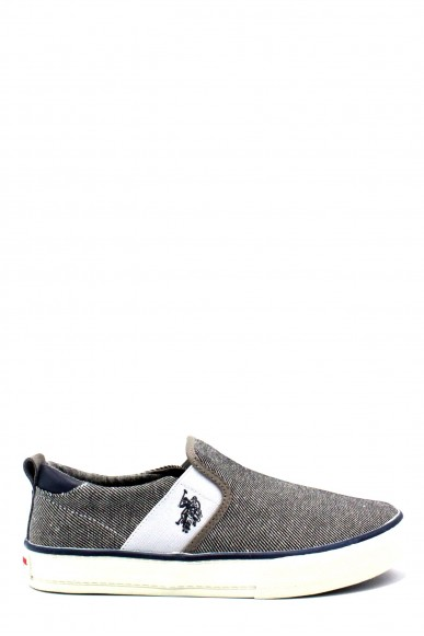 Us polo Slip-on F.gomma 40/46 turner boston ss18 Uomo Grigio Fashion