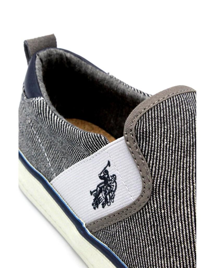 Us polo Slip-on F.gomma 40/46 turner boston ss18 Uomo Grigio Fashion
