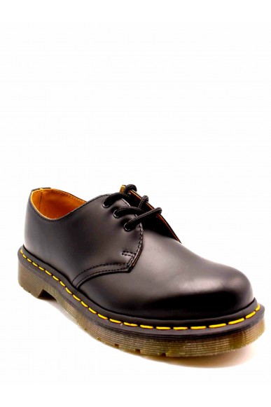 Dr. martens Stringate F.gomma 1461 z smooth black last 59 Unisex Nero Fashion