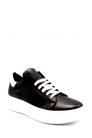 Nicole Sneakers F.gomma Donna Nero Fashion