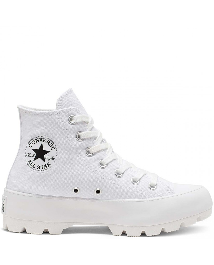 Converse Sneakers F.gomma Chuck taylor all star lugged Donna Bianco Fashion