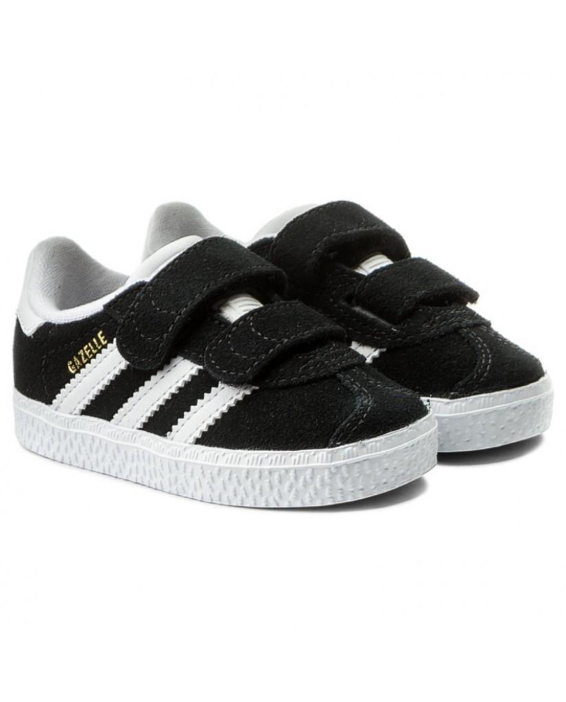Adidas Sneakers F.gomma Gazelle cf i Bambino Nero Fashion