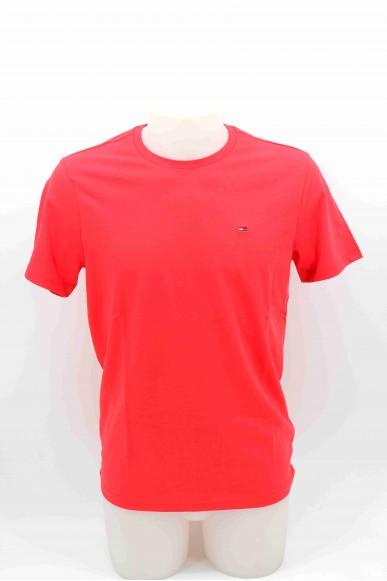 Tommy hilfiger T-shirt Uomo Rosso Casual