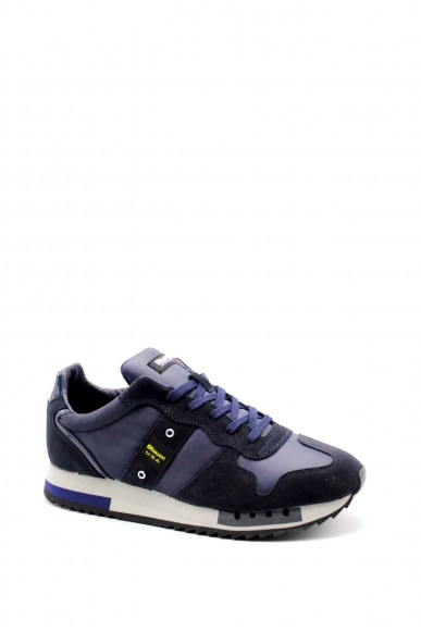 Blauer Sneakers   Queens01 Uomo Blu Fashion