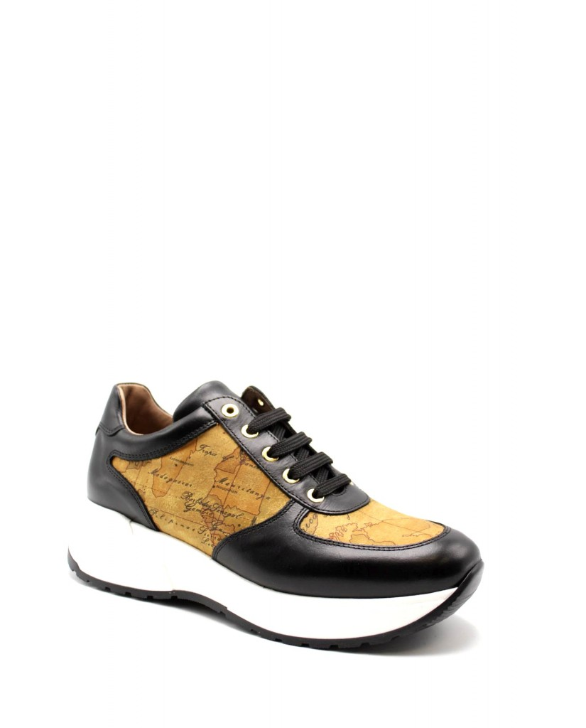 1^classe  Sneakers F.gomma In07250030 Donna Nero Fashion