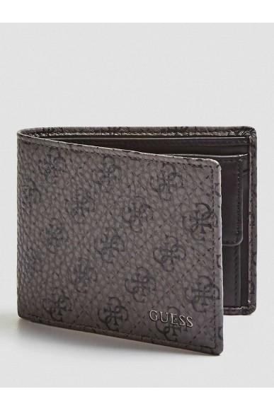 Guess Portafogli   City logo g.box belt&wallet Uomo Nero Fashion