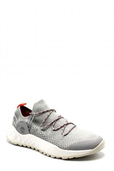 Timberland Sneakers F.gomma Solar wave low knit Uomo Grigio Fashion