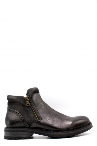 Brecos Stivaletti F.gomma 40-45 made in italy Uomo Grigio Fashion