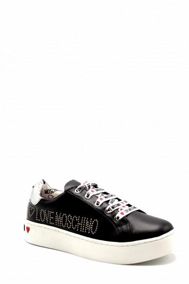 Moschino Sneakers F.gomma Ia0 Donna Nero Fashion