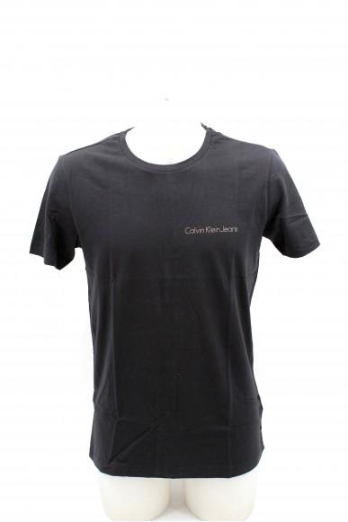 Calvin klein T-shirt Uomo Nero Casual