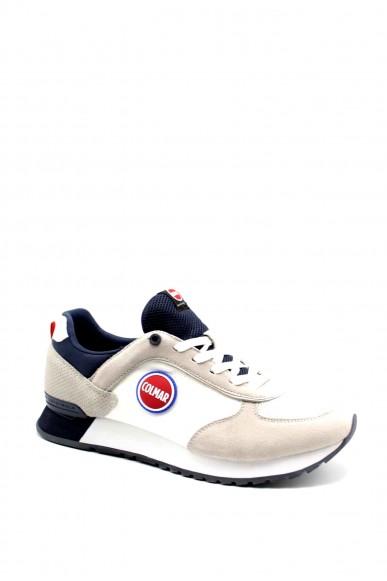 Colmar Sneakers F.gomma Travis colors Uomo Bianco Fashion