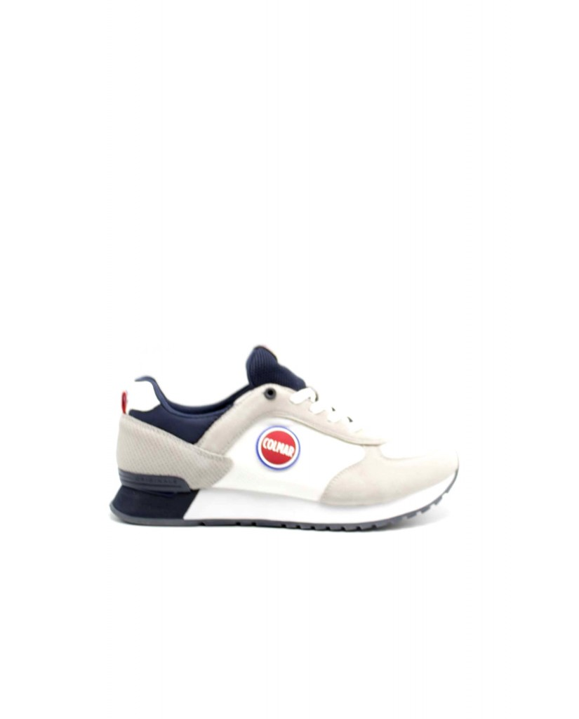 Colmar Sneakers F.gomma Travis colors Uomo Bianco Fashion