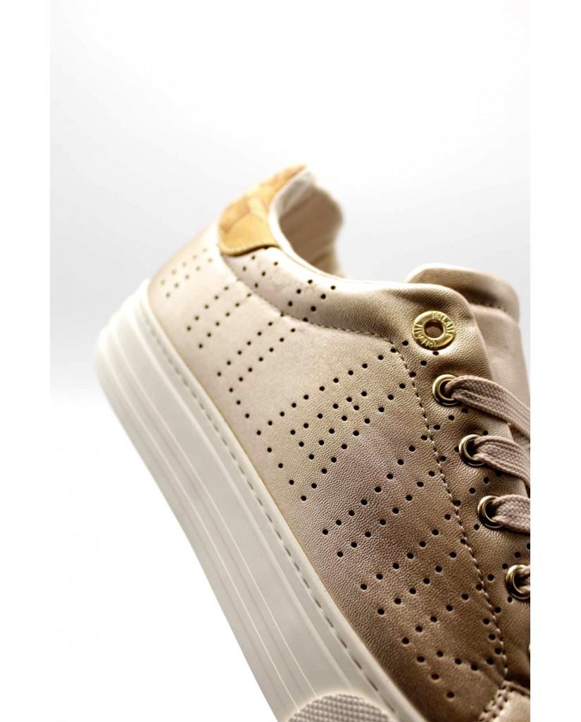 1^classe  Sneakers F.gomma Scarpa Donna Rosa Fashion