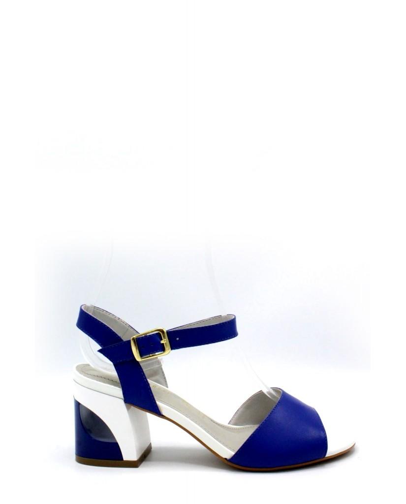 Capelli rossi Sandali 8274 Donna Blu Fashion
