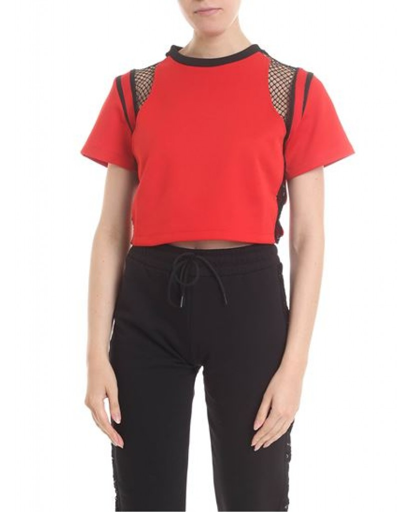 Gaelle paris T-shirt   T-shirt corta m/m g/c Donna Rosso Fashion