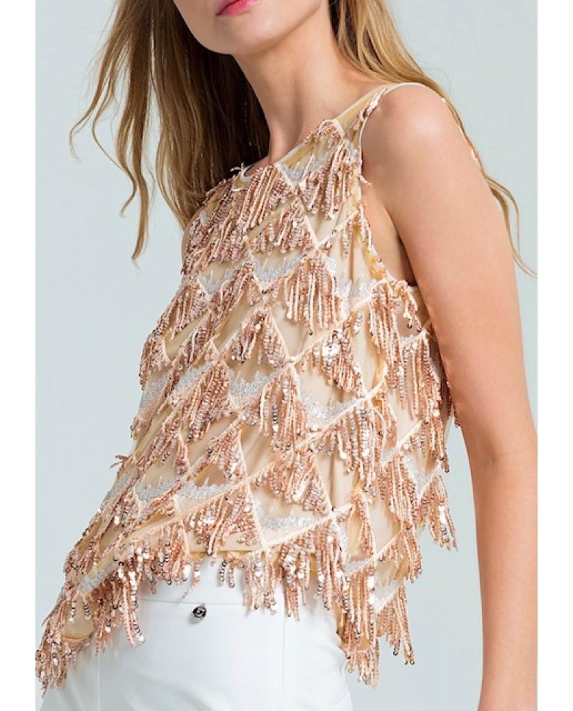 Fracomina Top   Tank top cipria Donna Cipria Fashion