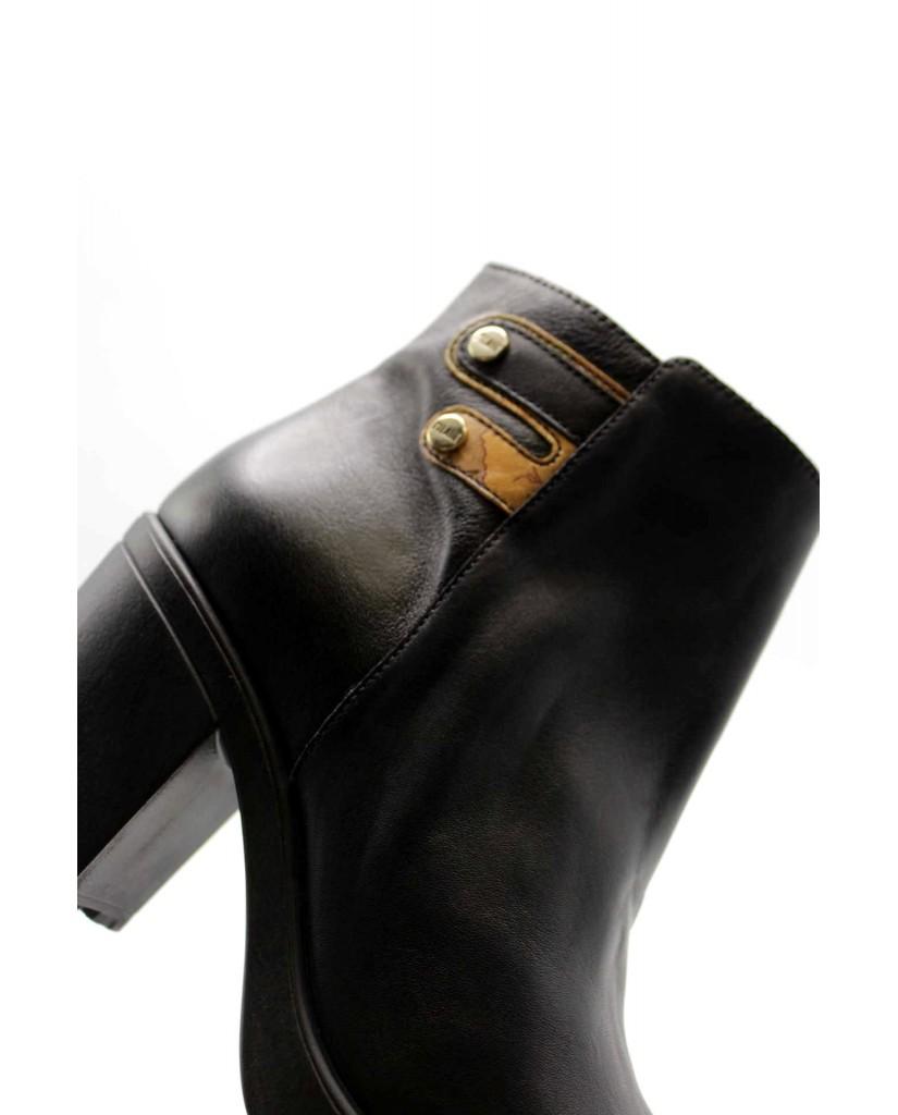 1^classe  Tronchetti F.gomma Tronchetto h80 Donna Nero Fashion