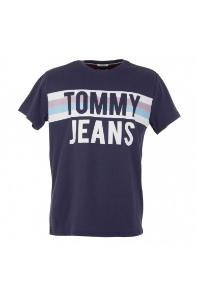 Tommy hilfiger Maglie Uomo Black-iris Casual