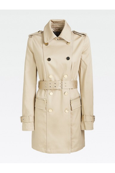 Guess Cappotti   Christina trench Donna Beige Fashion